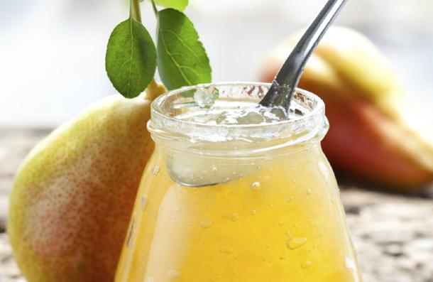 Рецепт грушевого джема с лимоном